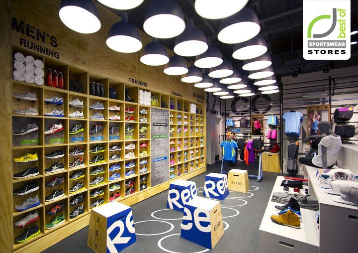 Reebok Fit Hub store by Trinity Building+Construction, New York