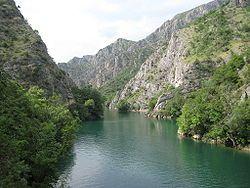 Matka Canyon - Wikipedia, the free encyclopedia