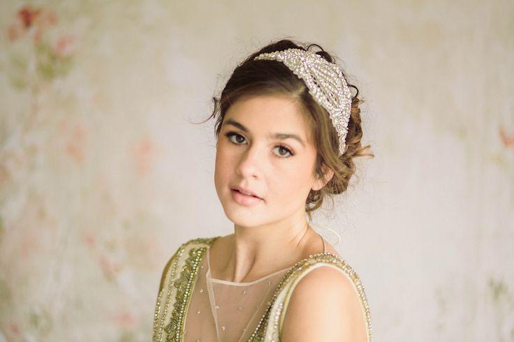 Artdeco inspired bridal headpiece - Sergia from MillieIcaro