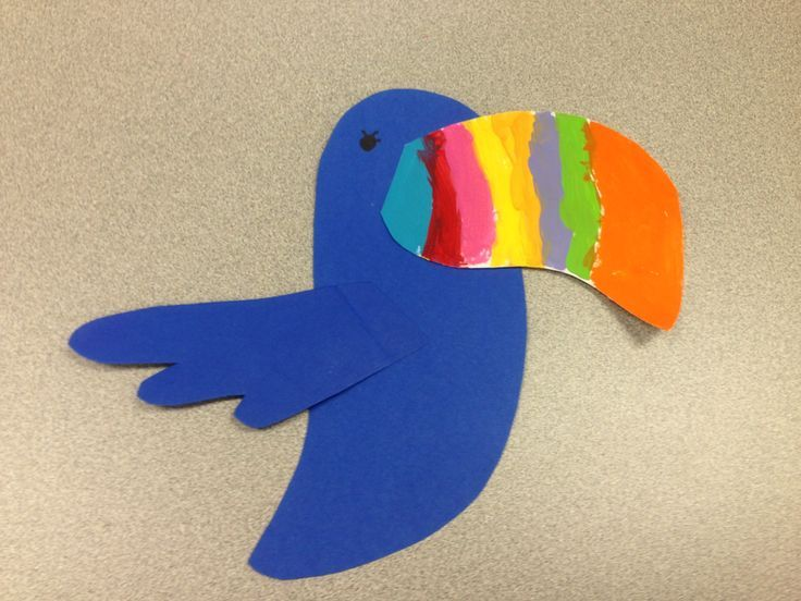 Rainforest Theme - Toucan Craft www.letsgetreadyforkindergarten.com ...