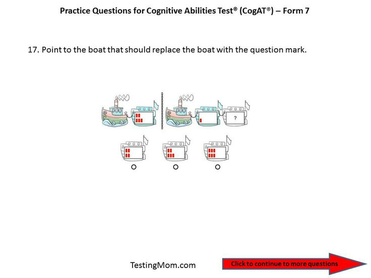 9 best 5 images on pinterest exercises gifted cogat form 7 practice question for pre k through kindergarten fandeluxe Gallery