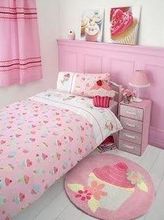 cute cupcake bedroom princess bedroomstheme bedroomsbedroom decorbedroom - Fashion Designer Bedroom Theme