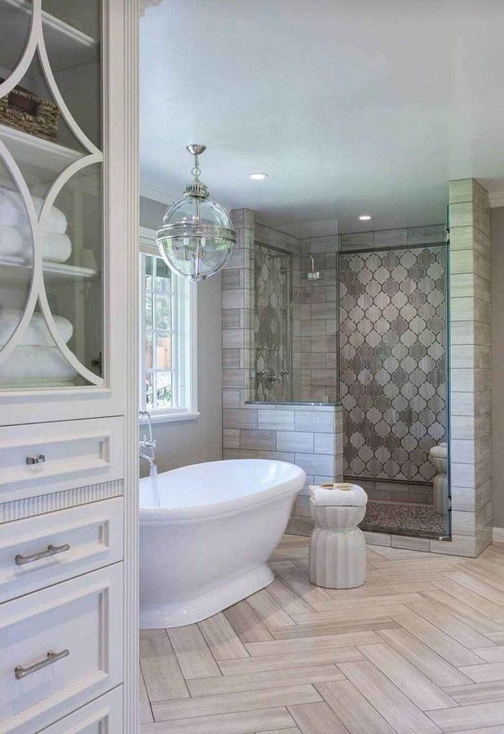 19 modern farmhouse master bathroom remodel ideas master on bathroom renovation ideas modern id=77941