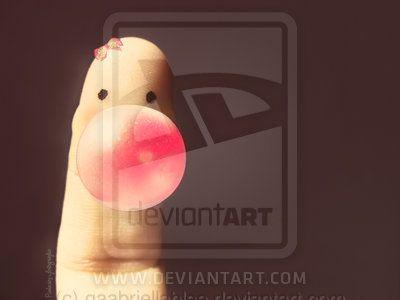 cute finger by gaabriellablee on DeviantArt