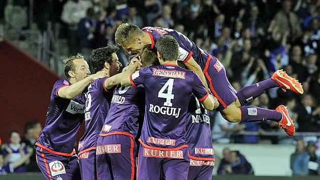 Austria Wien ist in der Saison 2012/13 zum 24. mal österreichischer Fussballmeister.