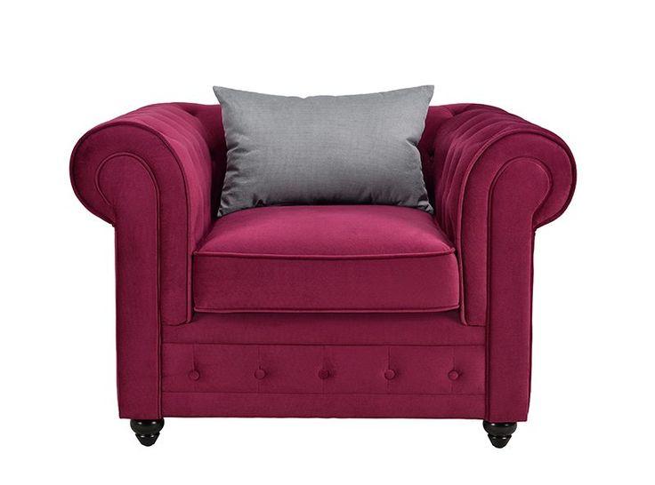 1000 id es sur le th me fauteuil chesterfield sur pinterest sofa chesterfie - Fauteuil chesterfield tissu ...