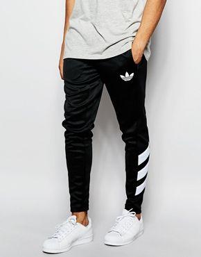 Adidas jacket black and white