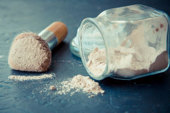 Homemade Makeup: Mix together arrowroot powder, cinnamon and cocoa until it matches your skintone. Put on like you would mineral makeup with a big fluffy brush.  use less if you are more pink-toned. You can also add more cinnamon or cocoa (and beet powder, if you want pink) to make a darker version to use as blush.  Mix it with a little liquid moisturizer to make a tinted moisturizer