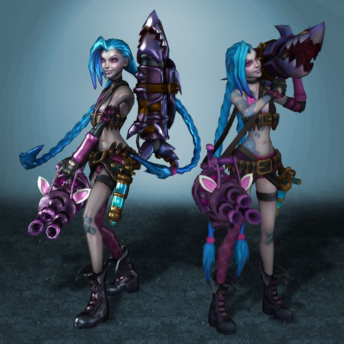 League of Legends Jinx by ArmachamCorp