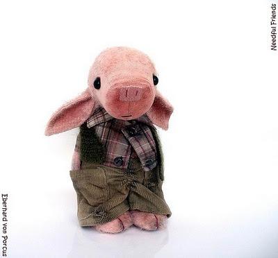 So  ein süßes Schwein hätt ich auch gern