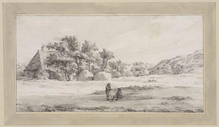 Landschap met boerderij achter Elswoud bij Haarlem — Teylers Museum