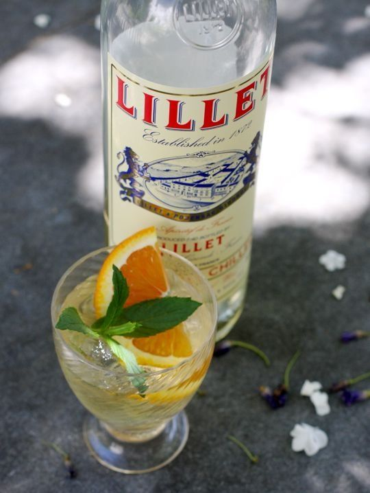 25 best images about lillet cocktails on pinterest for White wine based cocktails