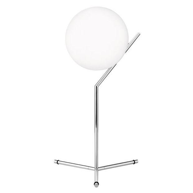 IC Lights T1 Table Lamp High, Chrome, Flos