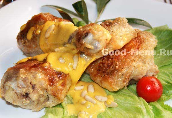 Курица в соусе - рецепт