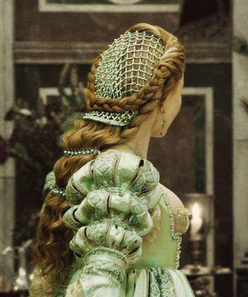 Peinado Edad Media.