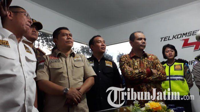 Pantau Persiapan Mudik Lebaran, Anggota DPR RI Kunjungi Pos Pantau Polrestabes Surabaya