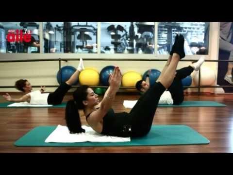 Pilates Dersleri 5 - Karın 2. Bölge