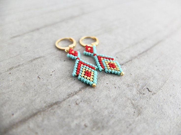 Boucles d'oreille ★ Osiris ★ via My-French-Touch. Click on the image to see more!