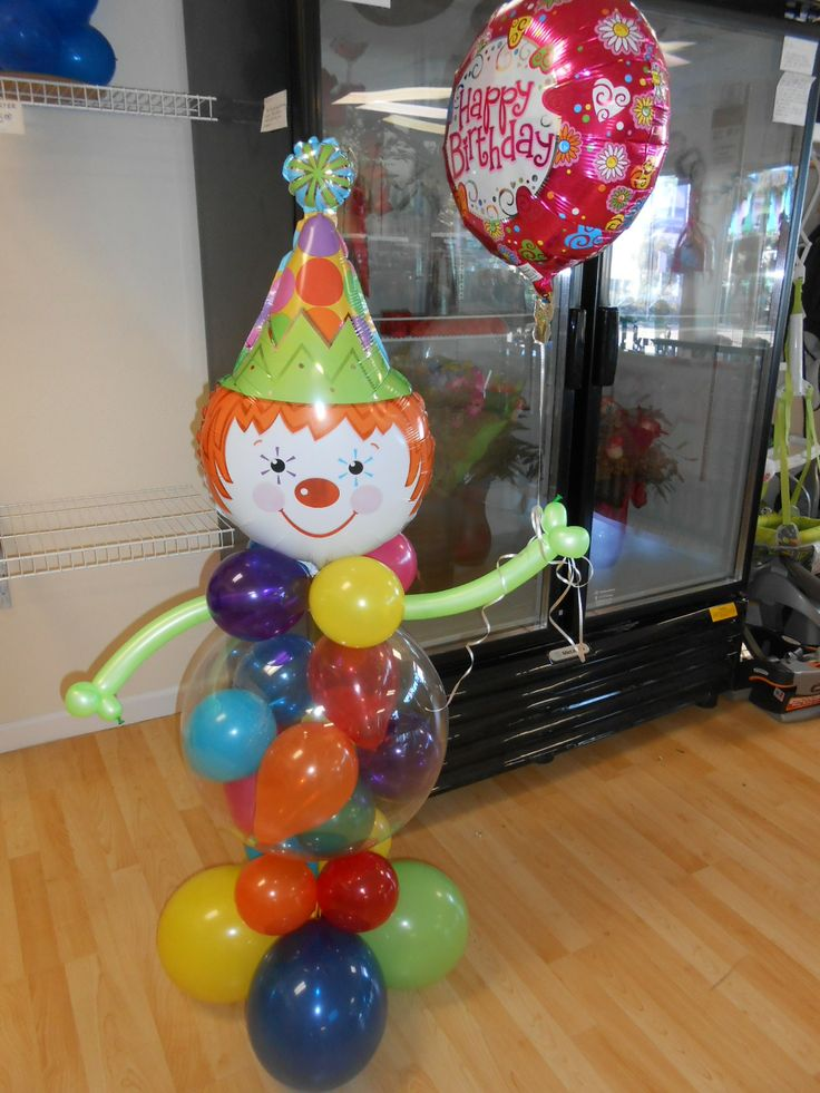 Happy Birthday Clown bouquet