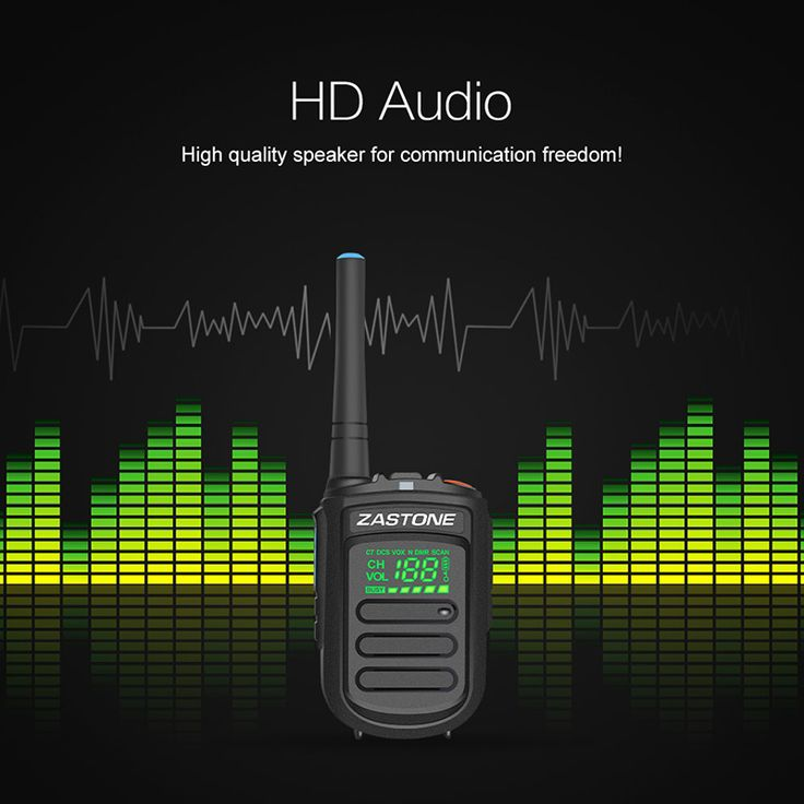 Zastone Mini9+ DMR Analog UHF Concealed LED Display Talk Around VOX Digital Transceiver 128 channels Private/Group Call Radio portable talkie walkie two-way radio ham radio