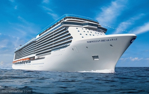 Meyer Werft cuts the first sheet steel of Norwegian Getaway