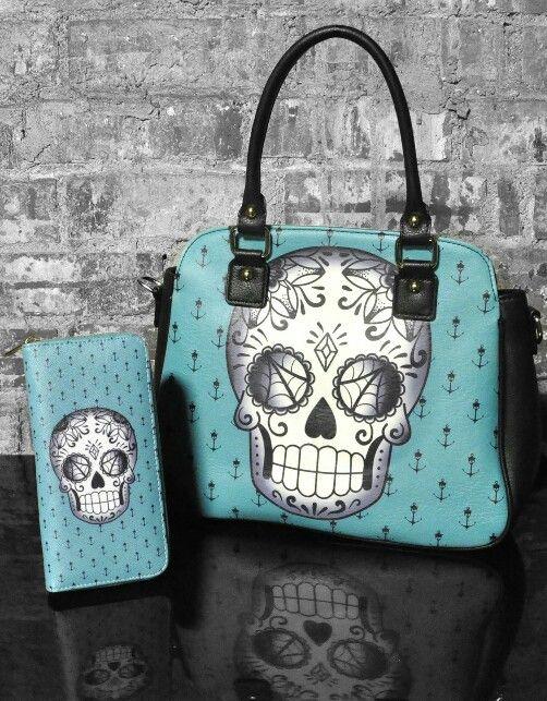 Sugar Skull purse @Her1Queen