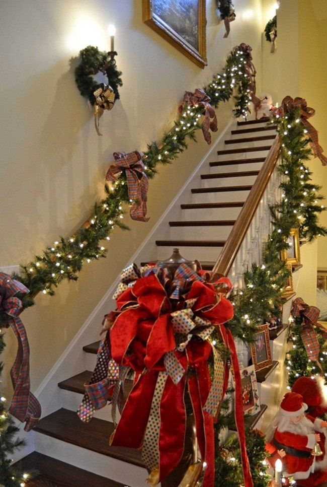 Decorating Outside Stairs For Christmas | Psoriasisguru.com