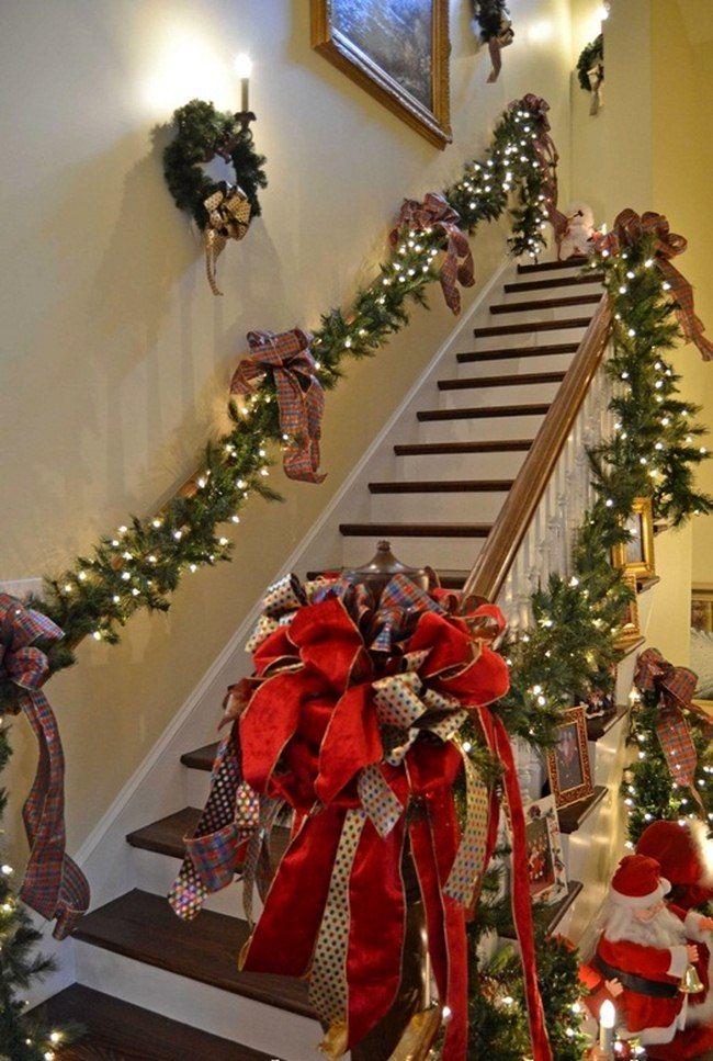 Decorating Outside Stairs For Christmas | Psoriasisguru.com