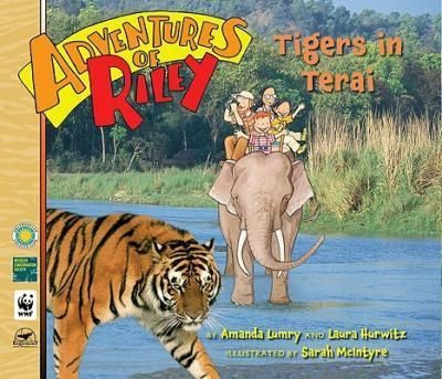 Riley-journeys-to-the-Terai-Arc-region-of-India-and-Nepal-in-search-of-the-elusive-Bengal-tiger-Rileys-research-leads-to-exciting-encounters-with-some-weird-and-wild-indigenous-animals-an-Asian-rhino-a-king-cobra-langur-monkeys-and-more-as-well-as-a-better-understanding-of-the-local-culture