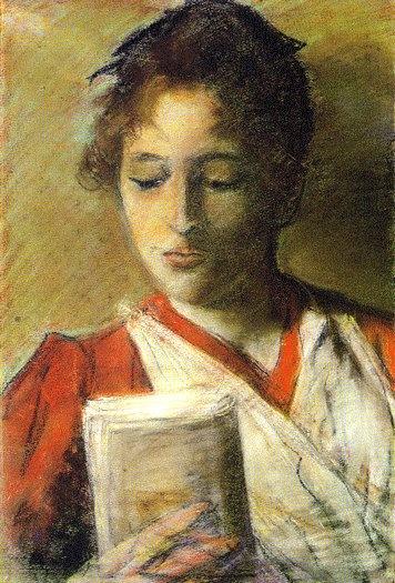 Giovanni Fattori. #reading, #books