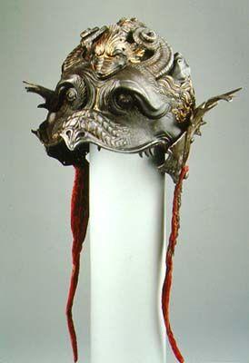 Filippo Negroli (armourer).   Made for Burgonet of Guidobaldo II  della Rovere, Duke of Urbino  Milan, ca. 1532-35: