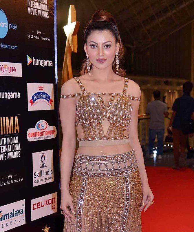 Urvashi Rautela at SIIMA 2016 in Singapore. #Bollywood #Fashion #Style #Beauty #Hot #Sexy