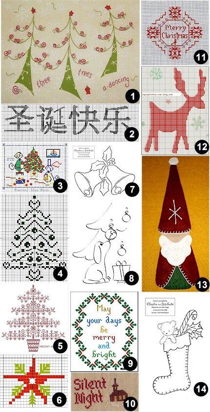 Free patterns and charts
