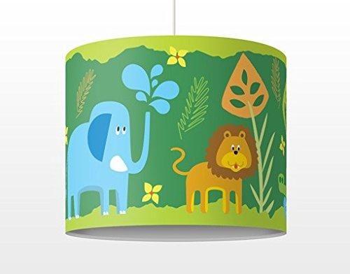 Amazing Kinderlampe Zootiere H ngelampe f r Kinderzimmer und Babyzimmer Ma e Lampenschirm KIettsystem kostenloser Versand nach DE