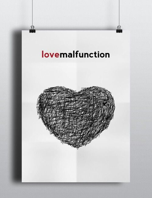 #love #malfunction #graphic #design