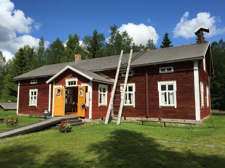 Turkansaari Open-Air Museum, Oulu, Finland. Photo: Mauri Kuorilehto (25.7.2015).