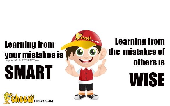 Cheesypinoy.com » We have a collection of Tagalog , Filipino , Pinoy , English Quotes about Love, Emo, Friendship, Sad, Inspirational and Motivational. We also have Funny Pictures of Filipino and PhilippinesLearning from mistakes » Cheesypinoy.com