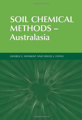 Soil Chemical Methods – Australasia (Australian Soil and Land Survey Handbooks Series) (v. 3)