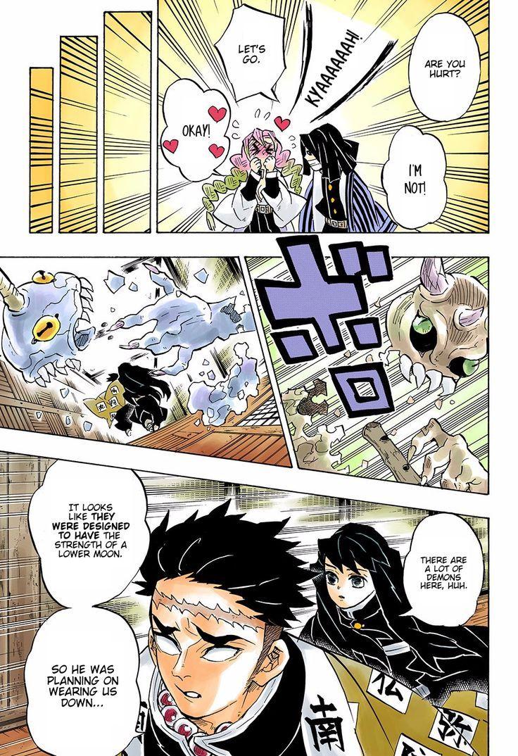 Muichirou Tokitou Manga Color In 2020 Anime Demon Demon Dragon Slayer