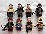 #10: Walking Dead Set of 8 Mini Figures Fit All Lego PlaysetsDaryl Dixon Rick Grimes Negan & More