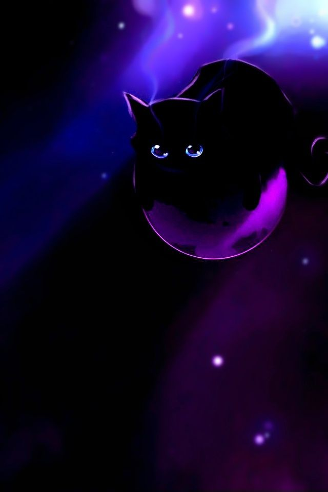 purple cat | Deep purple cat, iPhone Wallpaper, iPod Touch Wallpapers, iPhone ..... | Abstract HD Wallpapers 3
