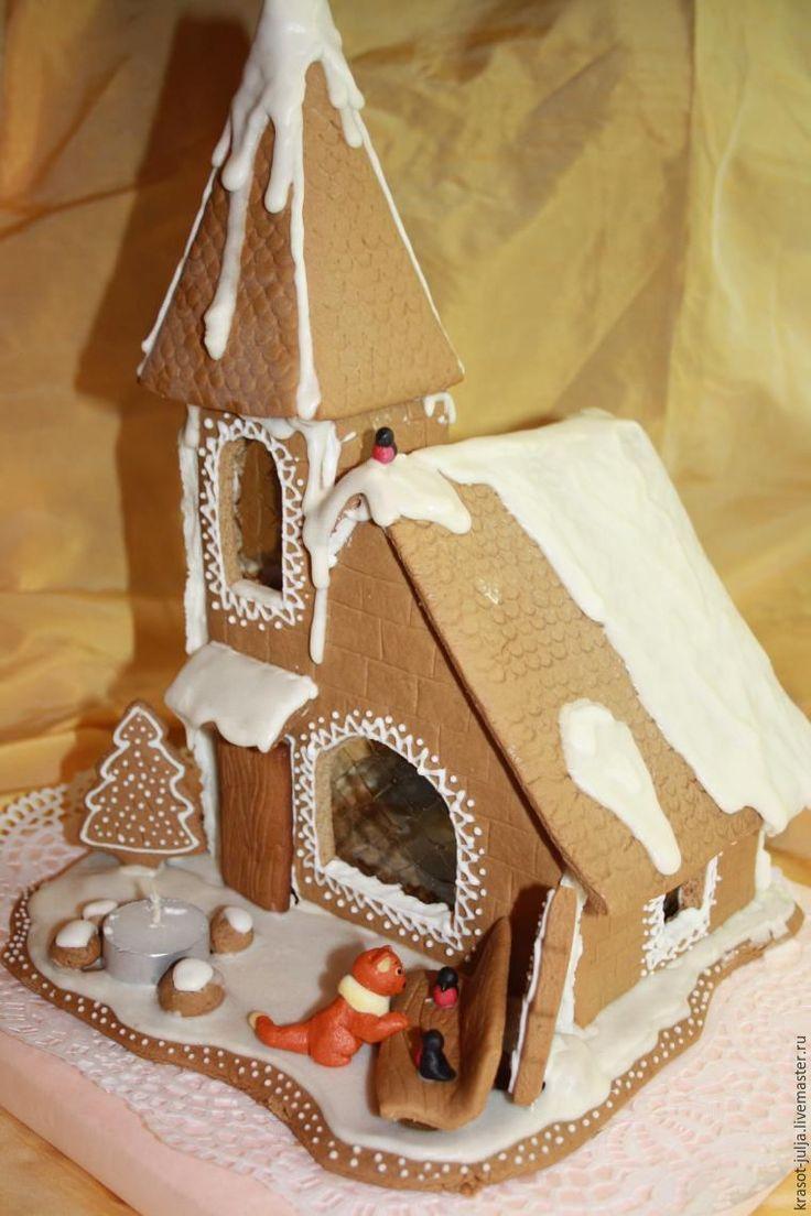 Строим пряничный домик: шаблон, рецепт, секреты создания - Ярмарка Мастеров - ручная работа, handmade