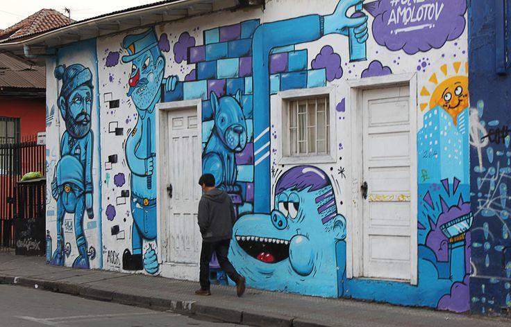 Calle Bombero Núñez, Santiago - Chile