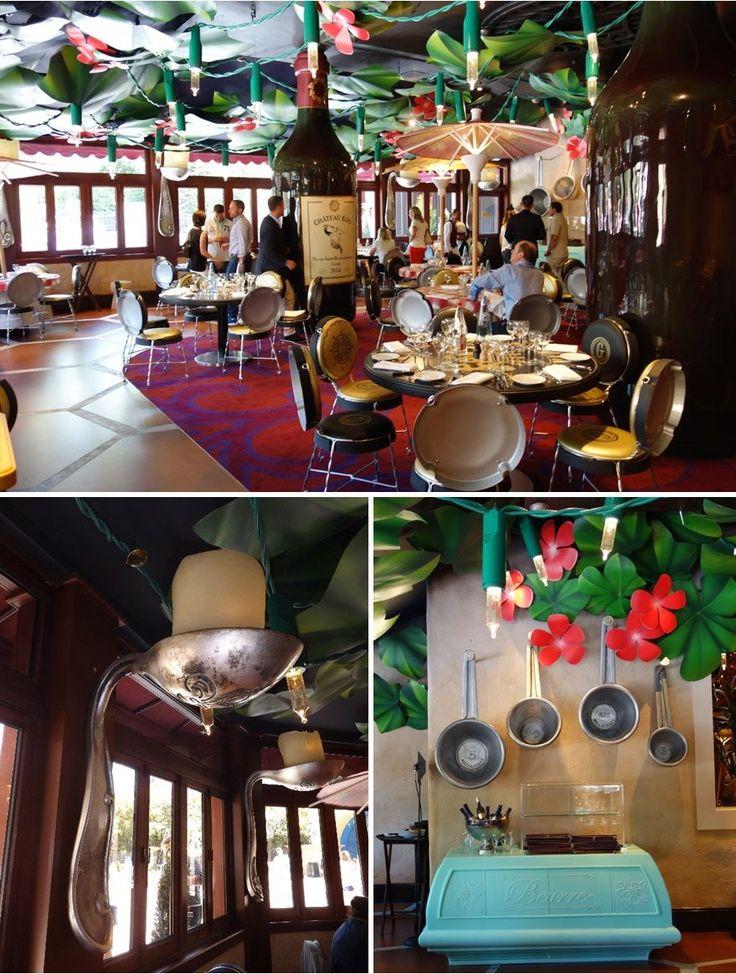 프랑스 디즈니랜드에 있는 라따뚜이 컨셉 레스토랑 (Bistrot Chez Rémy,France)