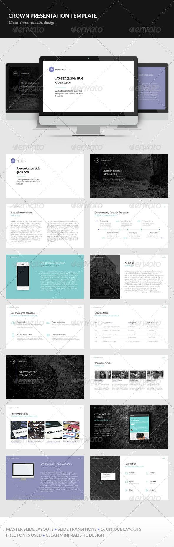 Crown Presentation Template