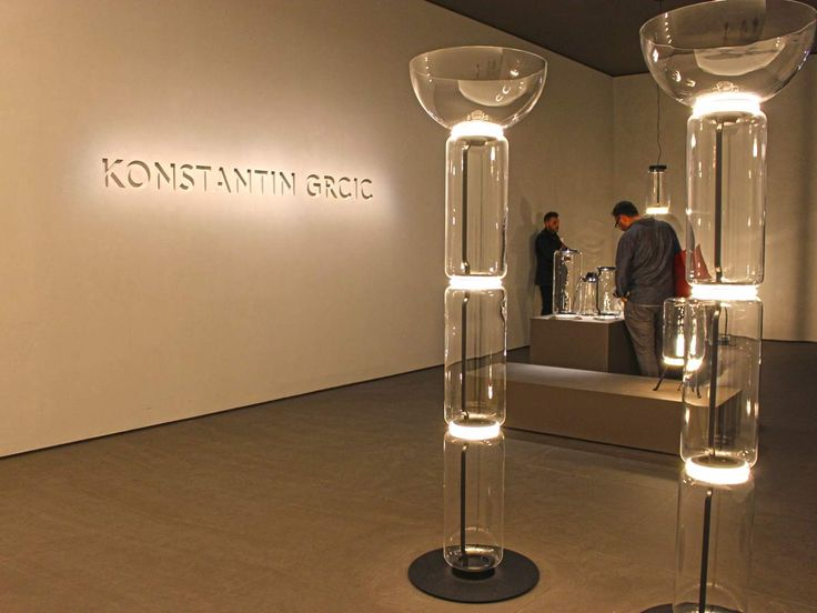 New Konstantin Grcic Flos Lighting design Glass lamps