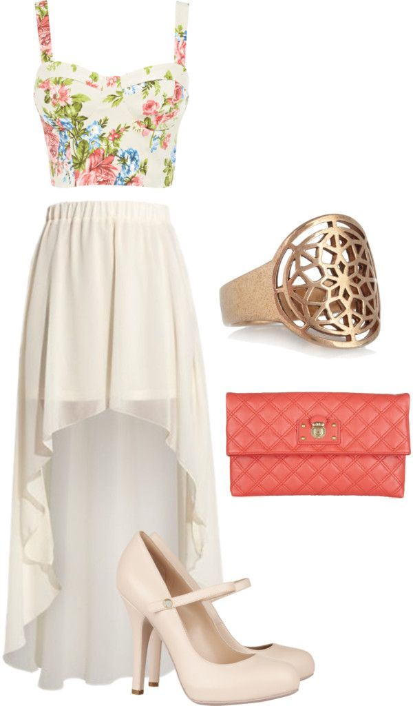 adore this outfit!: Shoes, Floral Tops, Fashion, High Low Skirts, Crop Tops, Cute Outfits, Dresses, Summer Outfits, Maxi Skirts