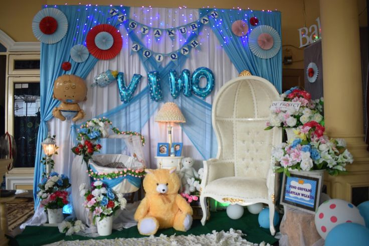 Decoration Aqiqah by : @de_project90