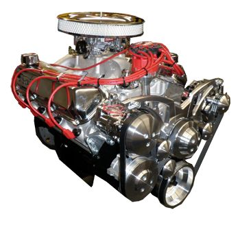 351W block - 427 Crate Engine With 525 HP