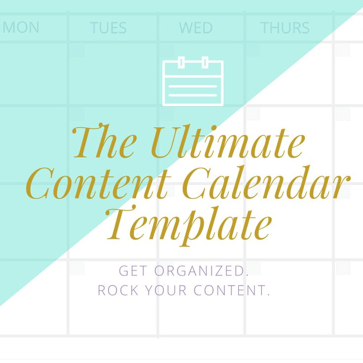 Best  Social Media Calendar Template Ideas Only On